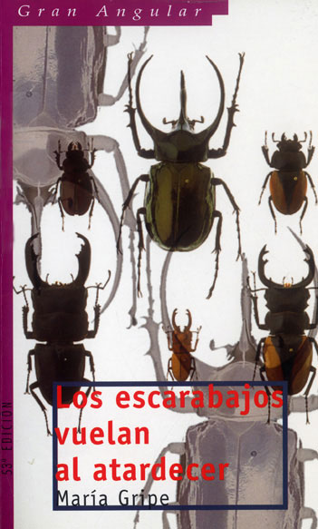 Resultat d'imatges de Un escarabajo vuela al atardecer